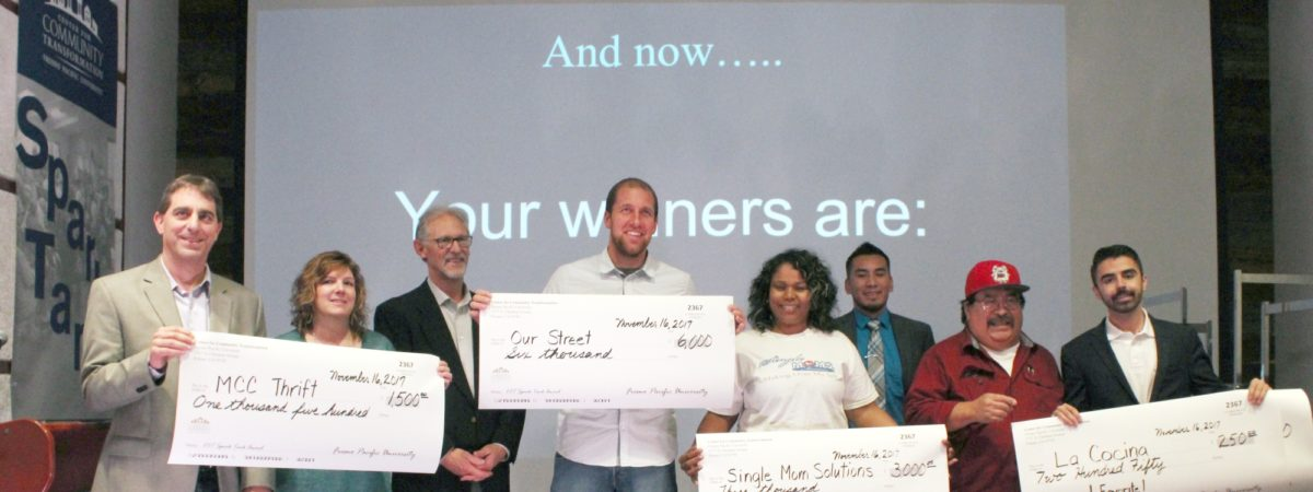 5th Annual Spark Tank Awards More Than $17,000 in Start-up Investments